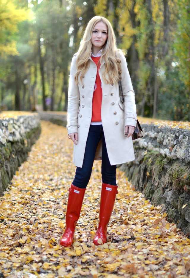 1000  images about Red boots on Pinterest | Wellies rain boots ...