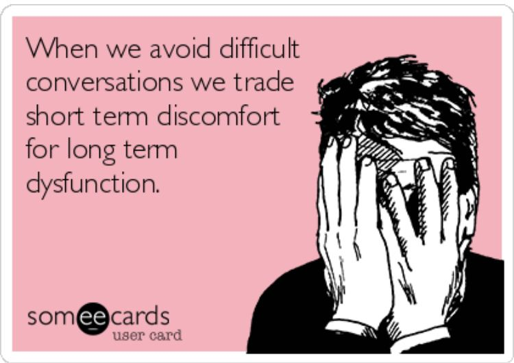 Pin By Lora Delong On Work Memes Quotes Difficult Conversations Memes