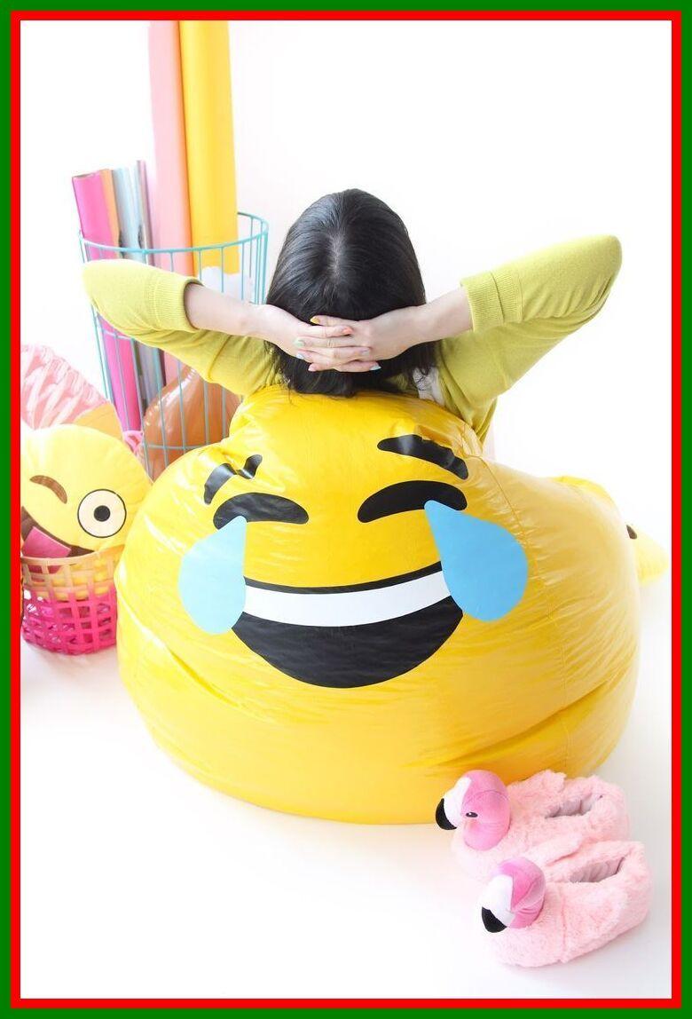 52 Reference Of Emoji Smirk Bean Bag Chair In 2020 Emoji Bean Bag Emoji Bedroom Emoji Room