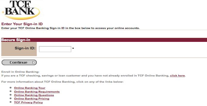 TCF Bank Login | Login Archives | Login page, Business