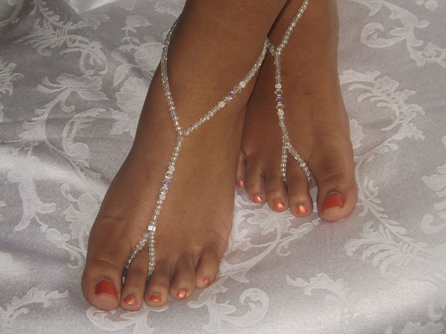 Footless sandals cute idea Wedding Pinterest Footless