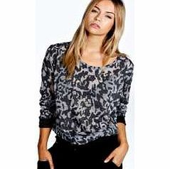 boohoo Isabelle PU Trim Leopard Burnout Knit Jumper - Go back to nature with your knits this season and add animal motifs to your must- haves. When youre not wrapping up in woodland warmers, nod to chunky Nordic knits and polo neck jumpers in peppered ma http://www.comparestoreprices.co.uk/womens-clothes/boohoo-isabelle-pu-trim-leopard-burnout-knit-jumper-.asp
