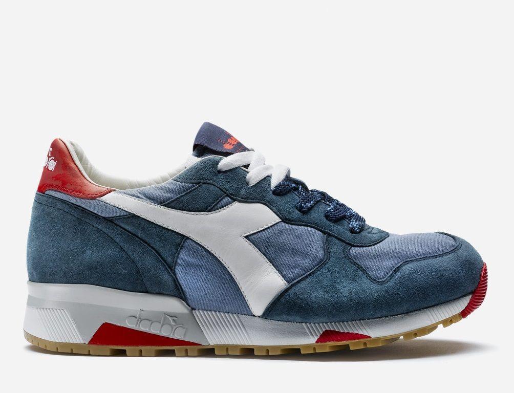 Diadora Trident 90C Blue Shadow | Shoes sneakers, Retro