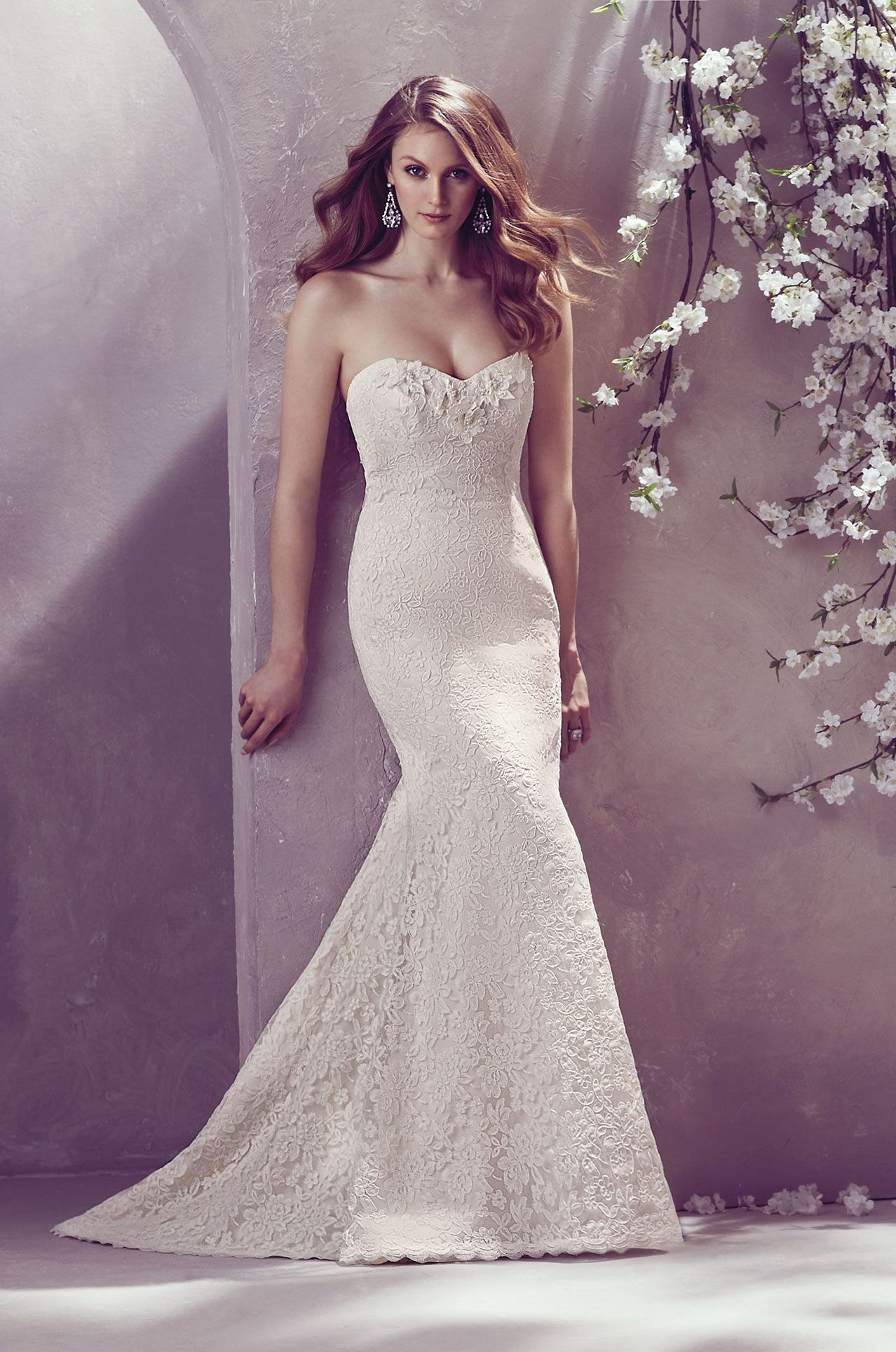 Lace dress styles for wedding  Raised Lace Wedding Dress  Style   Wedding  Pinterest
