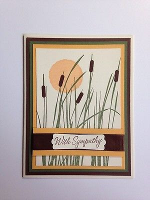 Stampin-Up-Cattails-In-The-Sunset-Sympathy-Card-Kit