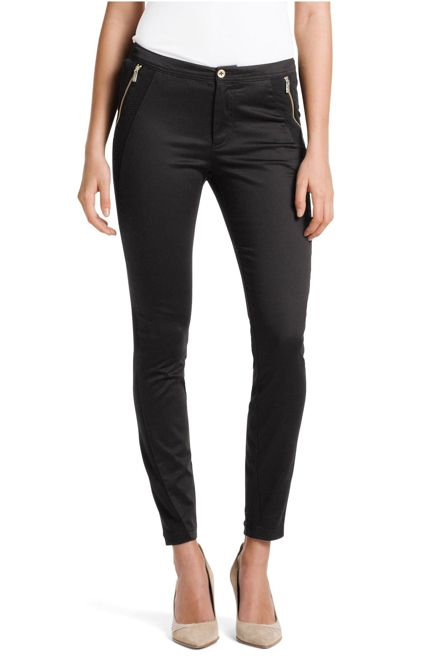 efdb99c06a05 BOSS Orange Pantalon Skinny Fit Soloca-W - Pantalon Femme Hugo Boss