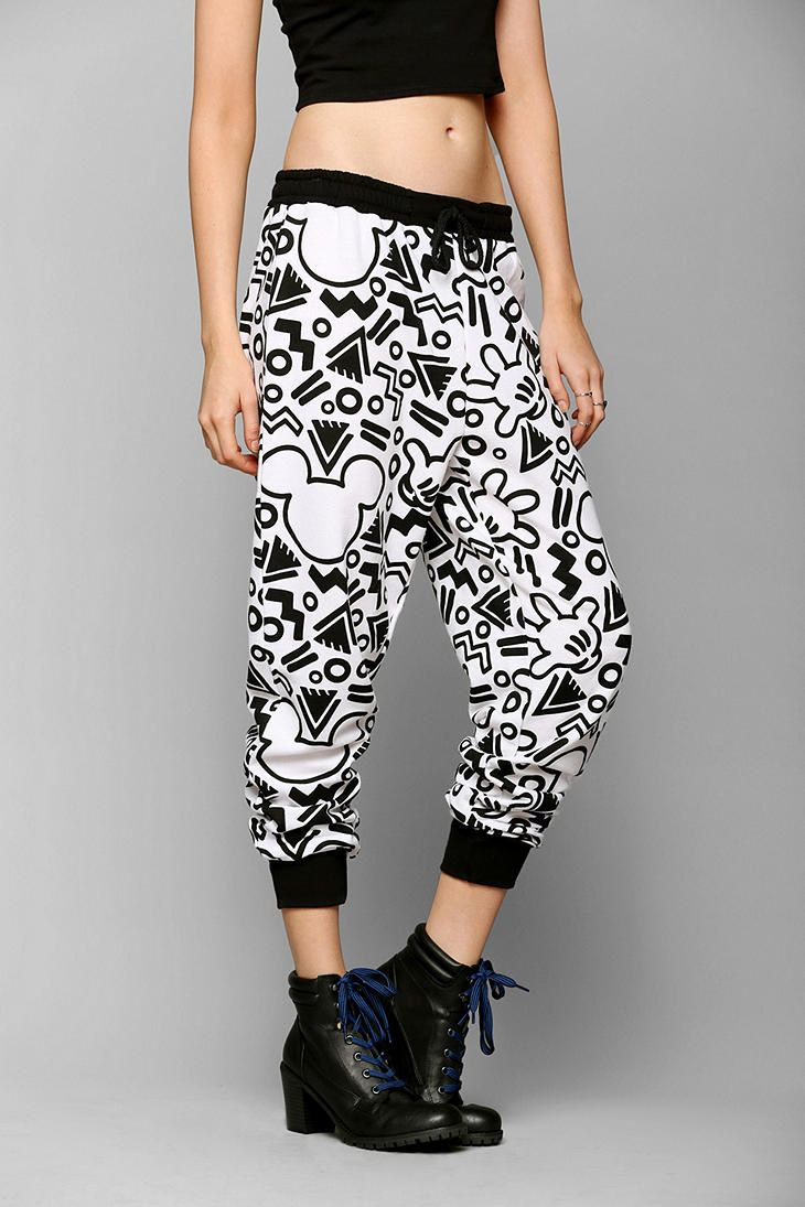 Doe Graffiti Sweatpant Outfits Fashion Sweatpants