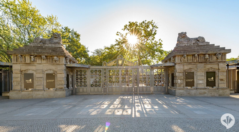 Zoo Berlin Zooeingang Lowentor Dan Pearlman Group Eternit Fassade Architektur Fassade