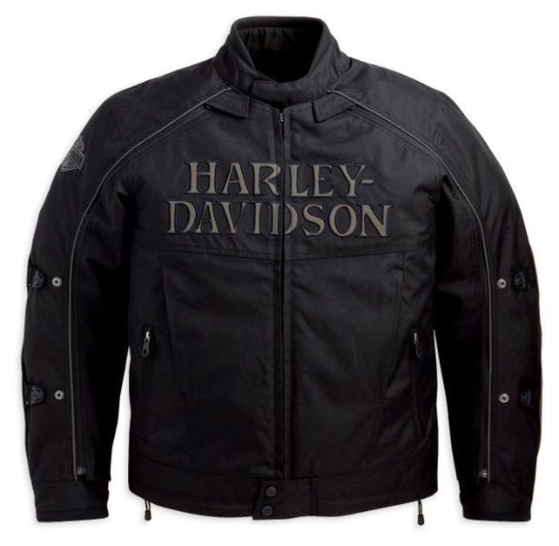 harley davidson men s reflective skull switchback jacket