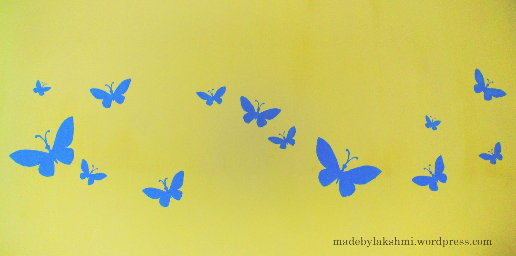 Butterfly Stencil Wall Designs | http://ultimaterpmod.us ...