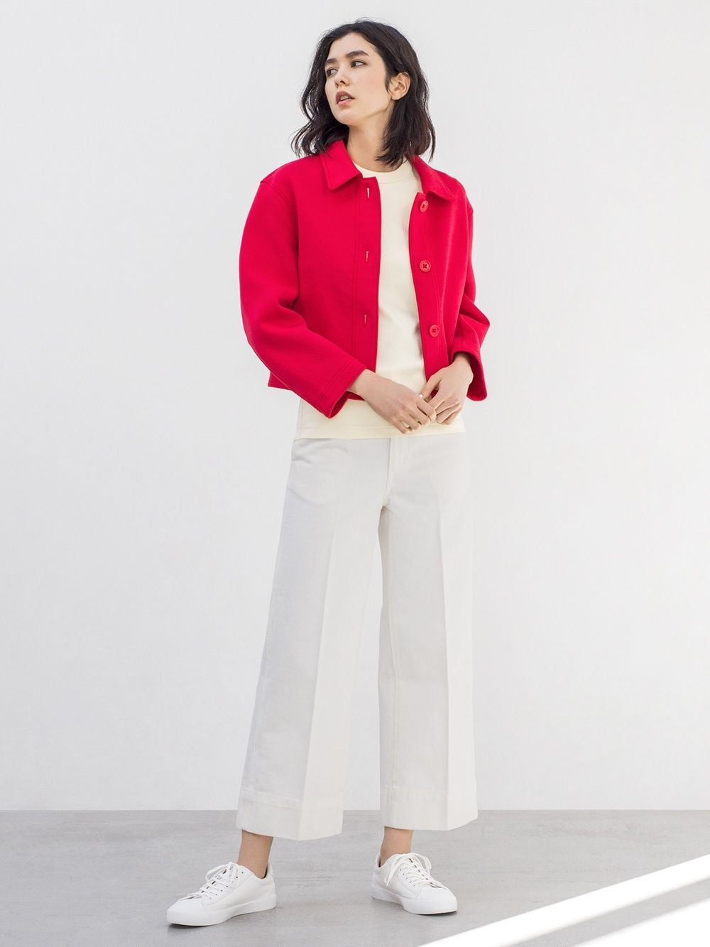 e41899c1f WOMEN UNIQLO U 100% cotton CREW NECK SHORT SLEEVE T-SHIRT