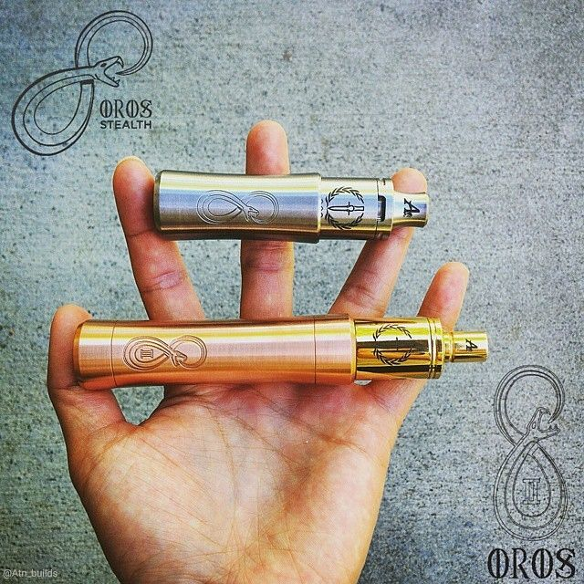 Oros Stealth Stainless Steel Mod X Orion V2 Rda Oros V2 Mod X Orion V1 Rda Handcheck From Atn Builds Available At Www Beyondvape Com Steel Orion Handcheck