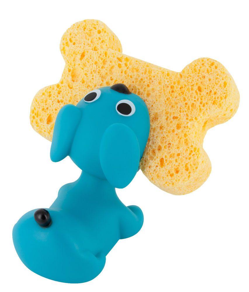 Pylones Kitchen Dish Scrubber Holder Blue Puppy Caddy Decor Dog ...