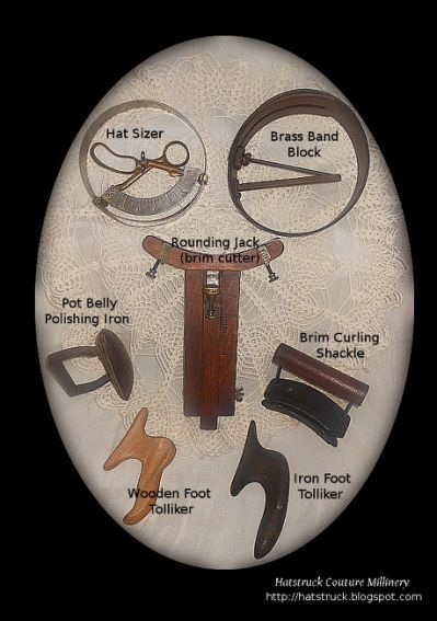 Hatters Tools You Should Welcome Millinery Hats For Men Vintage Millinery