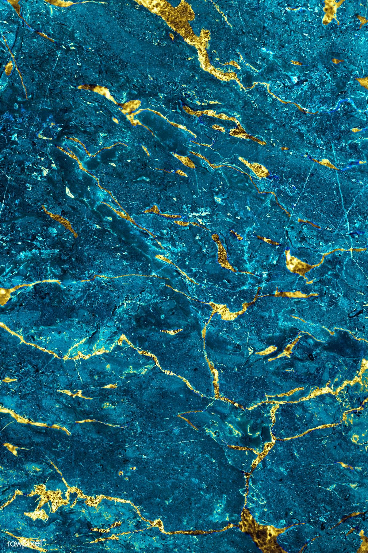 Blue And Gold Marble Textured Background Free Image By Rawpixel Com In 2020 Textured Background Marble Texture Blue Marble Wallpaper
