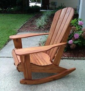 Rocking chairs have been stereotyped a lot in as furniture for