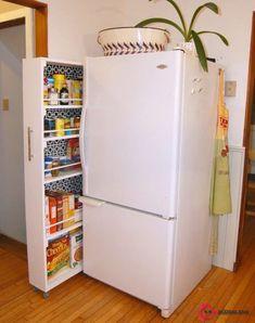 Küçük Mutfaklar İçin Hayatınızı Kolaylaştıracak 40 İnanılmaz Etkili Depolama Fikri #kitchenremodelsmall
