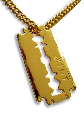 Mint mint razor blade gold chain mi chuntaro style pinterest mint mint razor blade gold chain thecheapjerseys Choice Image