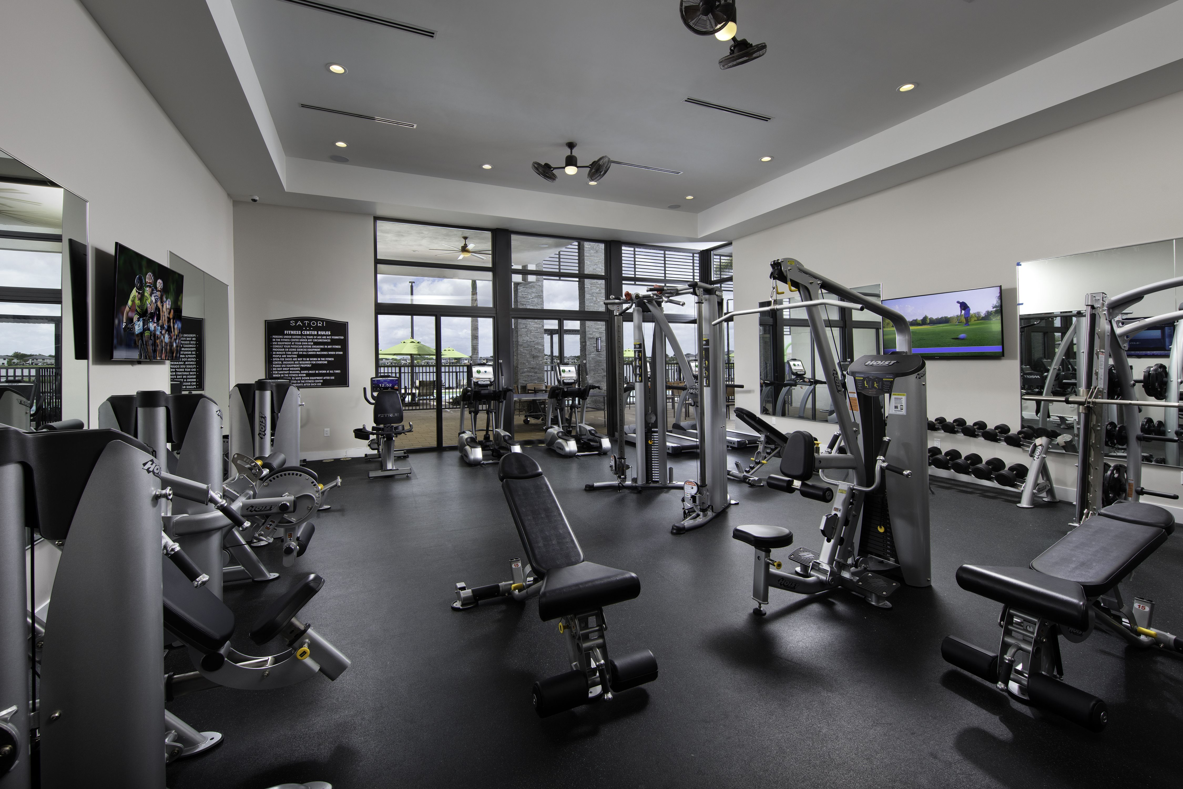 Start Your Saturday Morning Off Right With A Work Out At The Satori Clubhouse Gym Satori Miami Lakes Fl Gym Room At Home Home Gym Design Home Builders