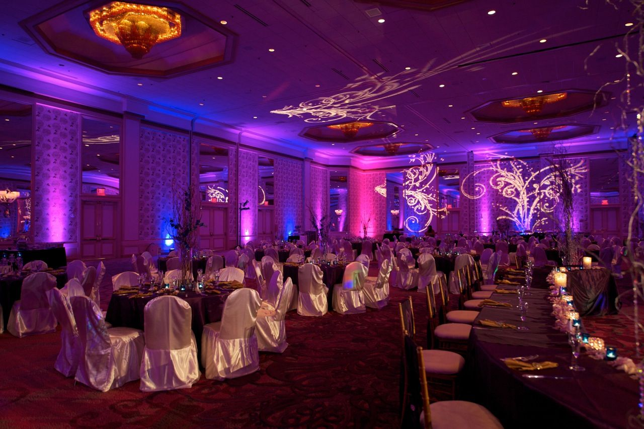 Dallas Wedding Lighting Hotel Intercontinental In Tx With Alternating Uplights Http