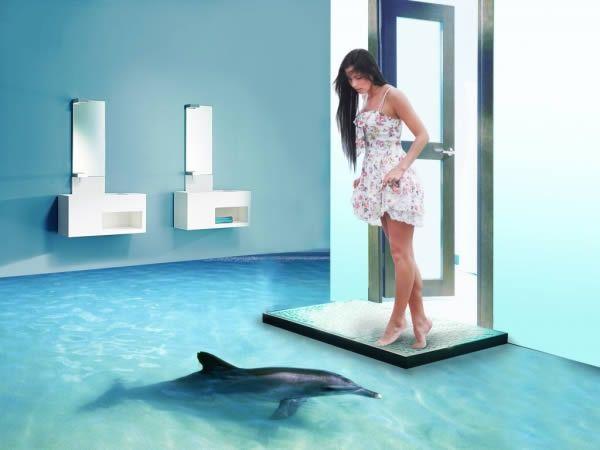 12 Awesome 3d Interior Floor Designs Epoxy Floor 3d Epoxy Floor
