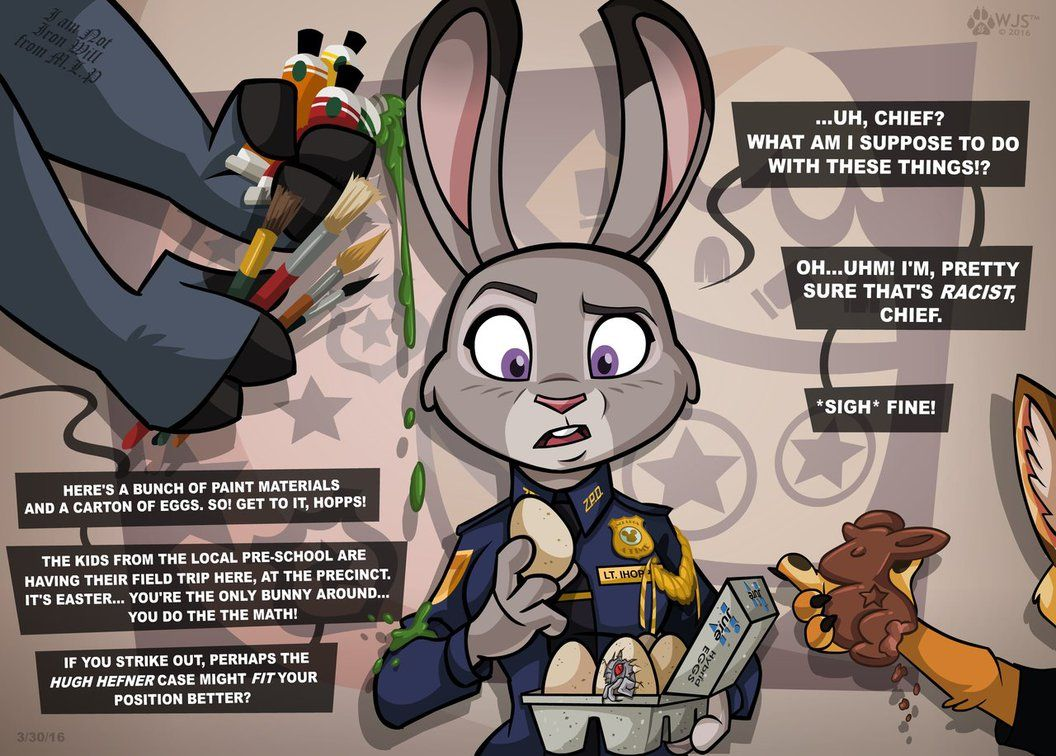 Politically Correct Easter By Wolfjedisamuel On Deviantart Zootopia Zootopia Comic Zootopia Art