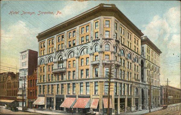 Hotel Jermyn Scranton Pennsylvania