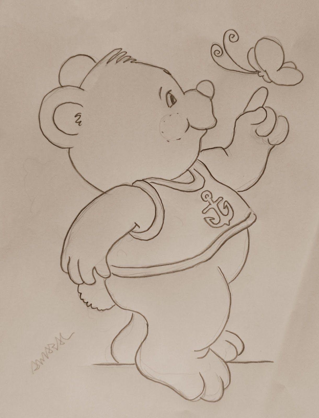 SAM_7623.JPG (1220×1600) | infantil | Pinterest | Filztiere, Bären ...