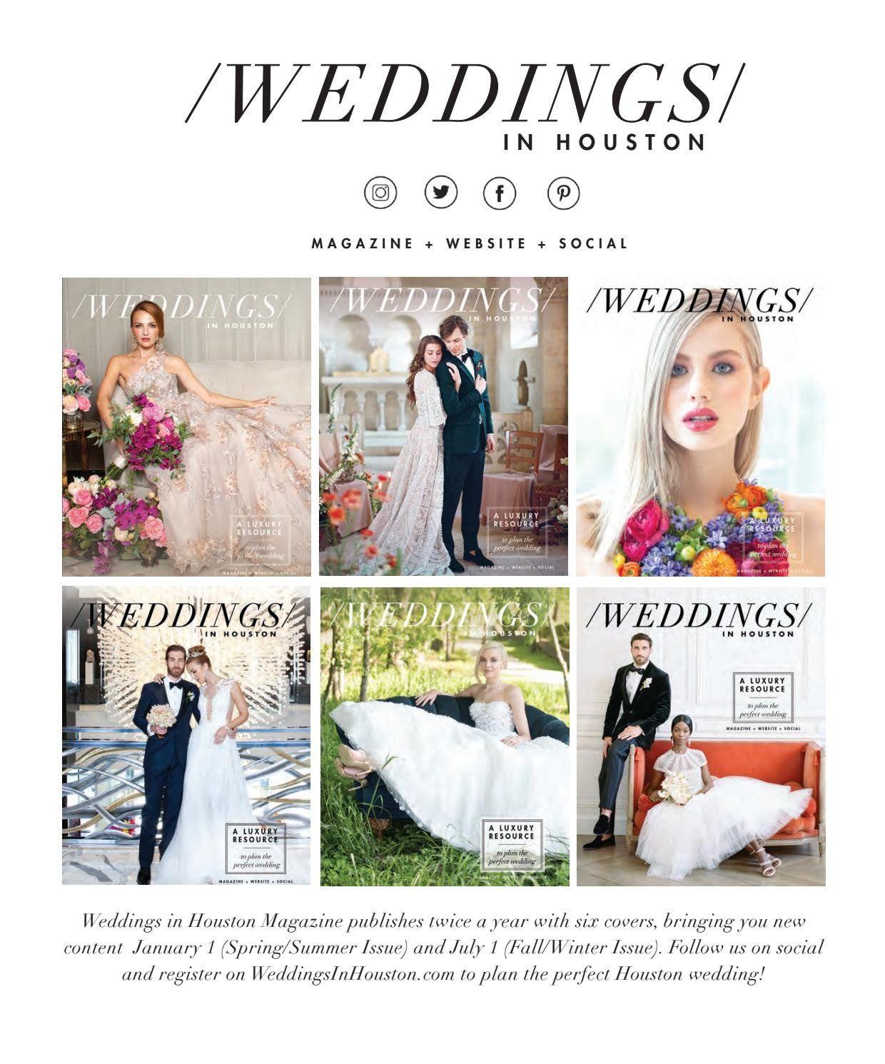 Lucille Ball Wedding Gown Elegant Weddings In Houston Magazine Spring Summer 2019 Iss Blue Wedding Dresses Wedding Dress Preservation Wedding Dress Alterations