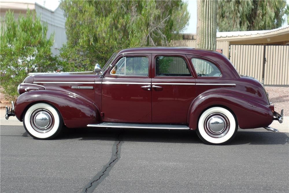 1939 Buick Series 40 4 Door Sedan 186876 Buick Sedan Classic Cars