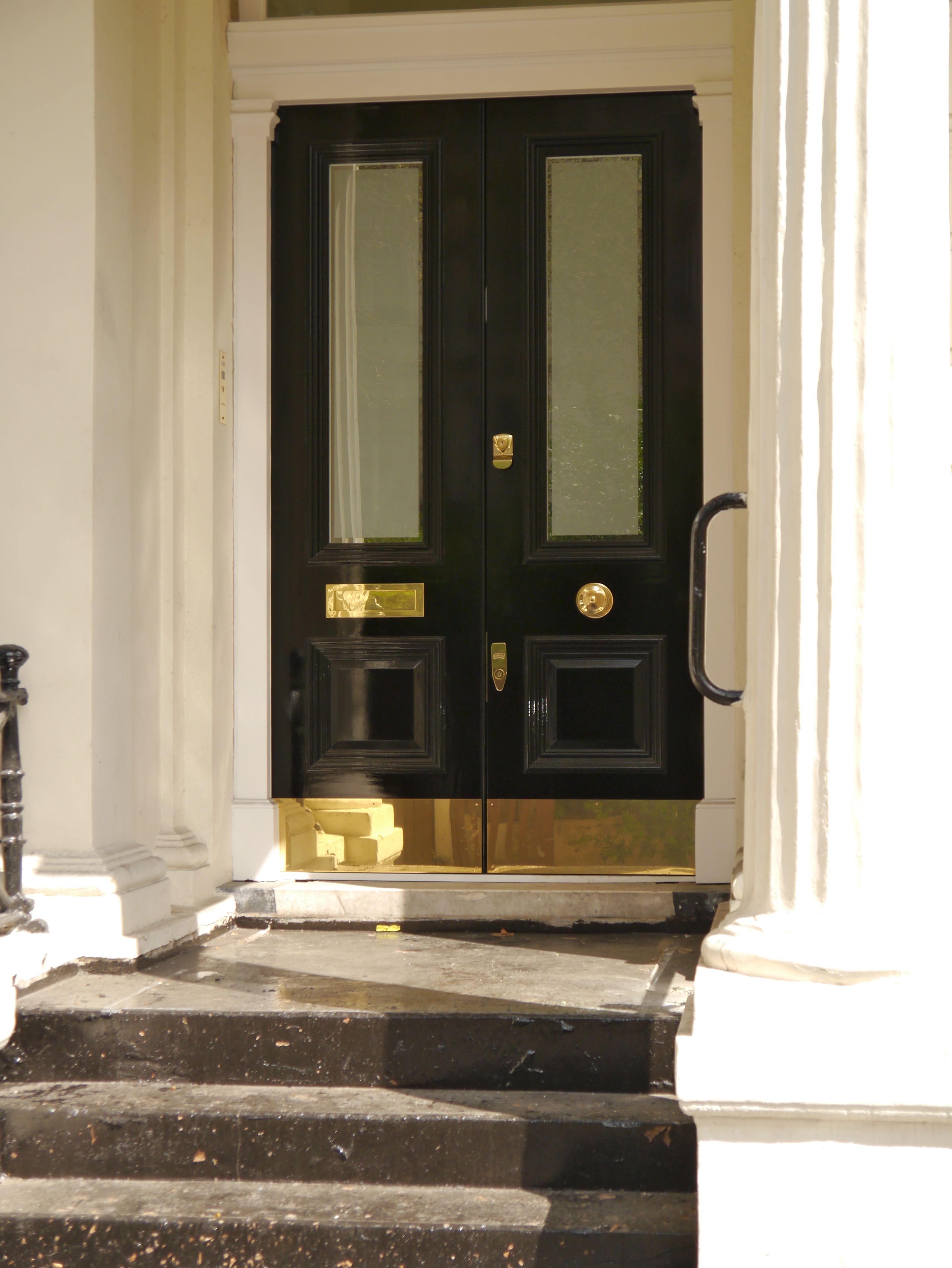 The London Door Company Paddington, London - LDC Gloss Black | My ...