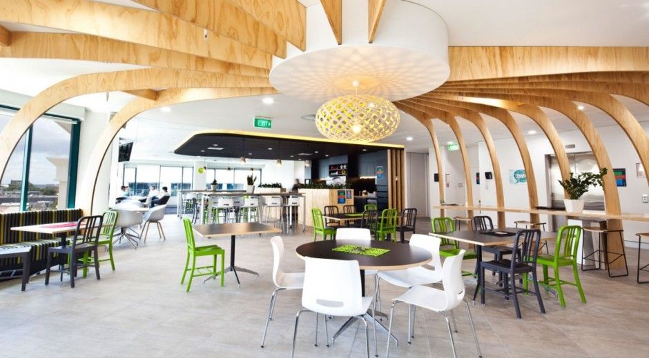 Social Hub For Tonkin Taylor By Unispace Interior OfficeCommercial InteriorsCommercial