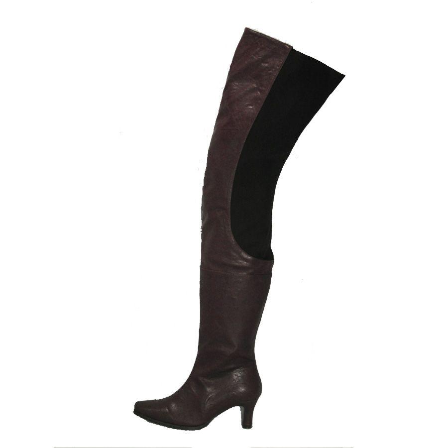 0b0b14db6eb Thigh High Leather Boots   Peearge LB7060 Ladies Thigh High Boots ...