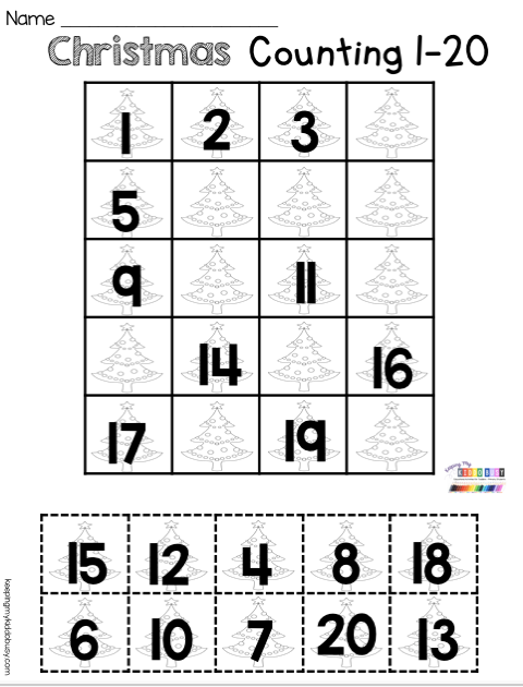December Math And Literacy Pack Freebies Keeping My Kiddo Busy Christmas Math Worksheets Kindergarten Christmas Math Worksheets Christmas Kindergarten