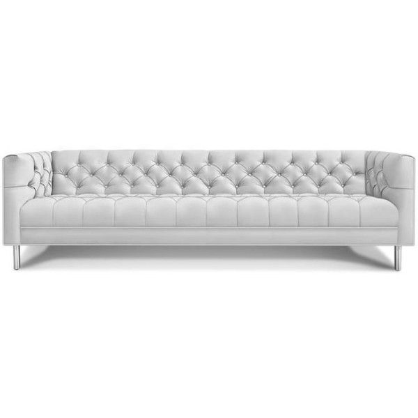 Cheap Sofas Jonathan Adler Baxter Grand Sofa liked on Polyvore featuring home furniture