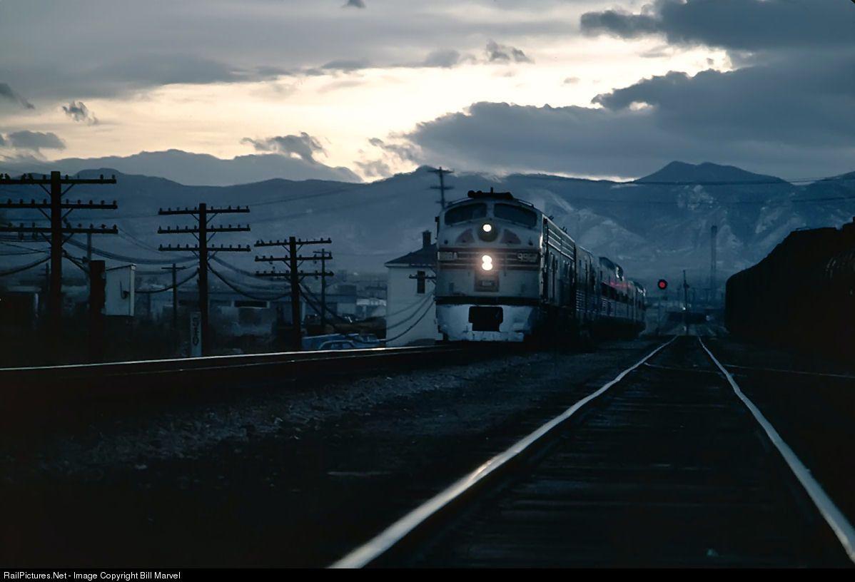RailPictures.Net Photo: 9988A Chicago, Burlington and Quincy Railroad EMD E9(A) at Denver, Colorado by Bill Marvel