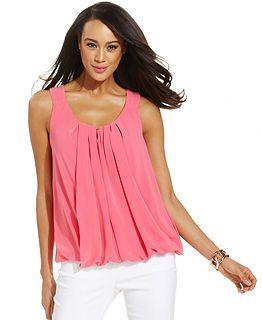 Tunics Blouses Halter Tops Womens Shirts Womens Tops Macy S