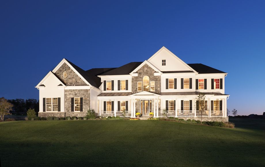 Toll Brothers Floor Plans Virginia: The Estates Collection: Luxury New Homes In