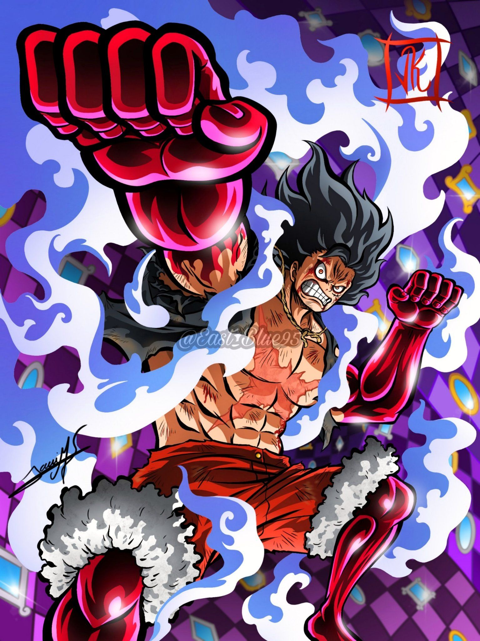 Luffy Snake Man Manga Anime One Piece One Piece Drawing One Piece Wallpaper Iphone