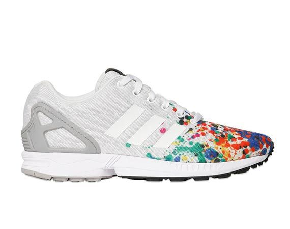 "adidas Originals ZX Flux ""Paint Splatter"" (FRESHNESS - Established in 2003  