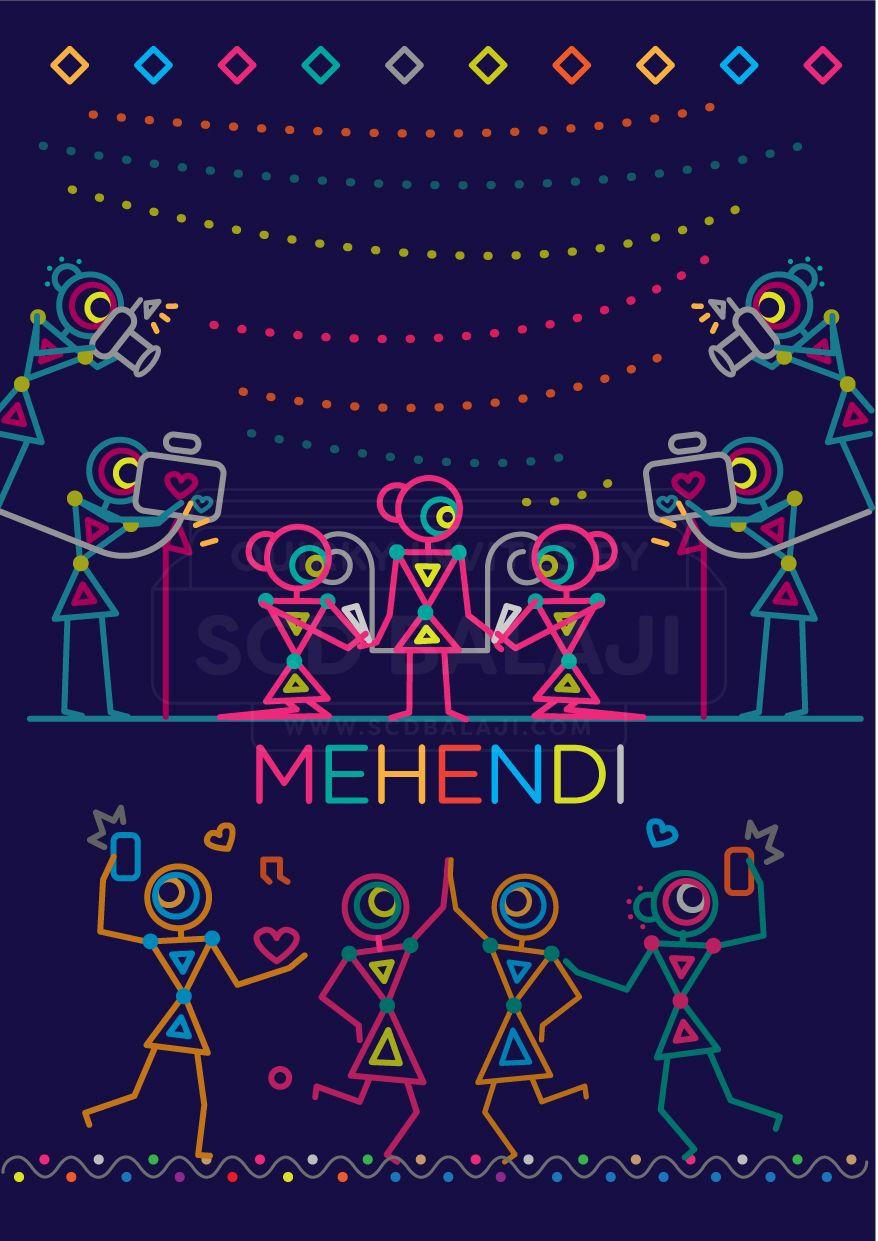 Indian wedding invitation suite illustrated and designed by mehendi indian wedding invitation suite illustrated and designed by mehendi invitation design and illustration stopboris Image collections