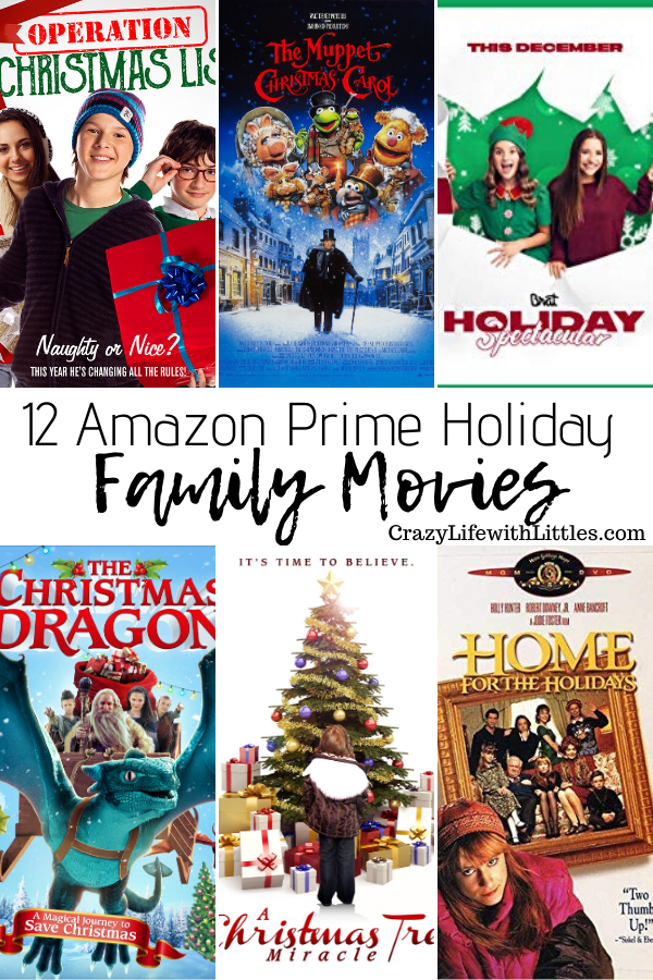 12 Family Holiday Movies On Amazon Prime Holiday Movie Holiday Traditions Family Holiday