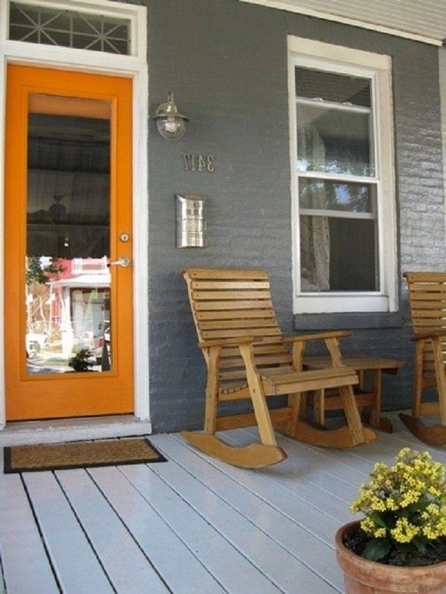 Great Front Door Colors best front door colors for gray house | exteriors | pinterest