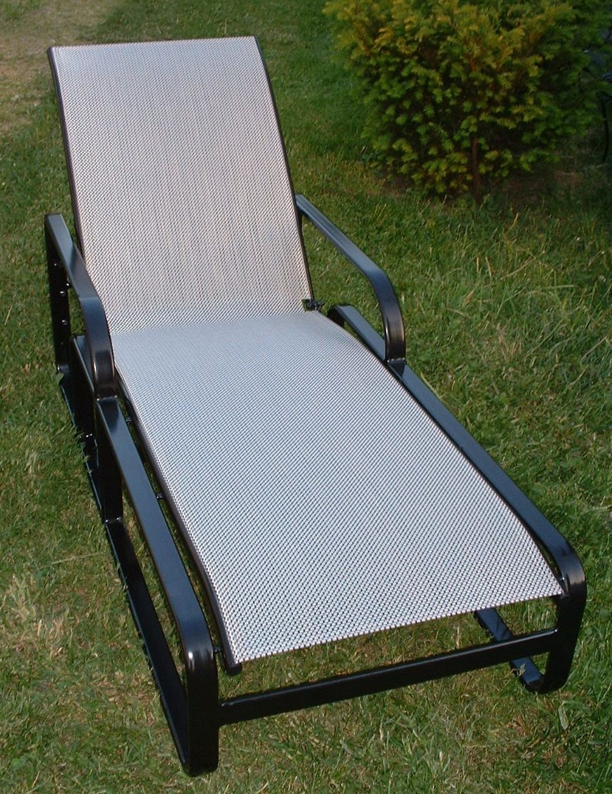 Brwon Jordan Quantum Chaise Outdoor Fabric Sling Replacements : chaise lounge sling replacement - Sectionals, Sofas & Couches