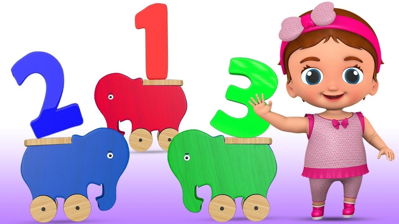 Learning Colors and Numbers for Children with Little Baby Fun Play ...
