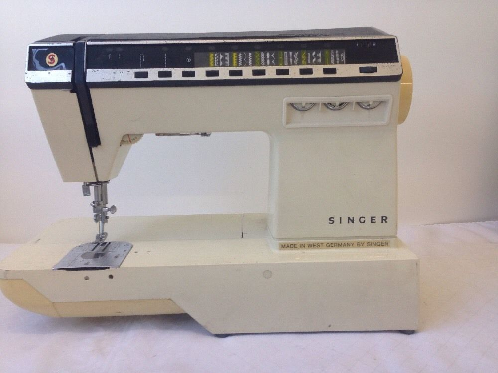 Vintage Singer Futura 40 Sewing Machine Made In West Germany Awesome How To Thread A Singer Futura Sewing Machine
