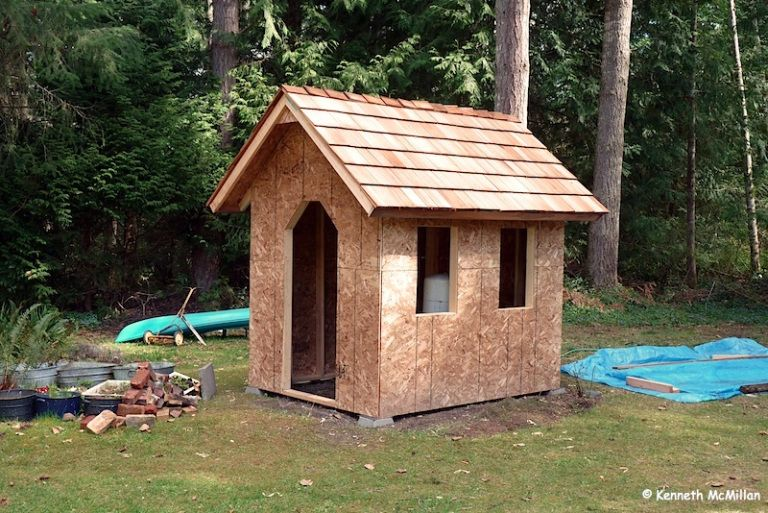The Pump House Project Water Well House Pump House Wood Plans