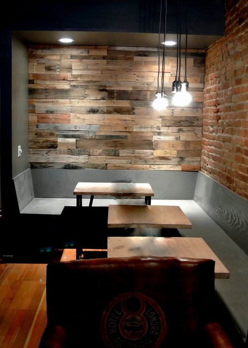 Diy Pallet Bathroom Wall Paneling: Wood Wall Design, Wood Pallets