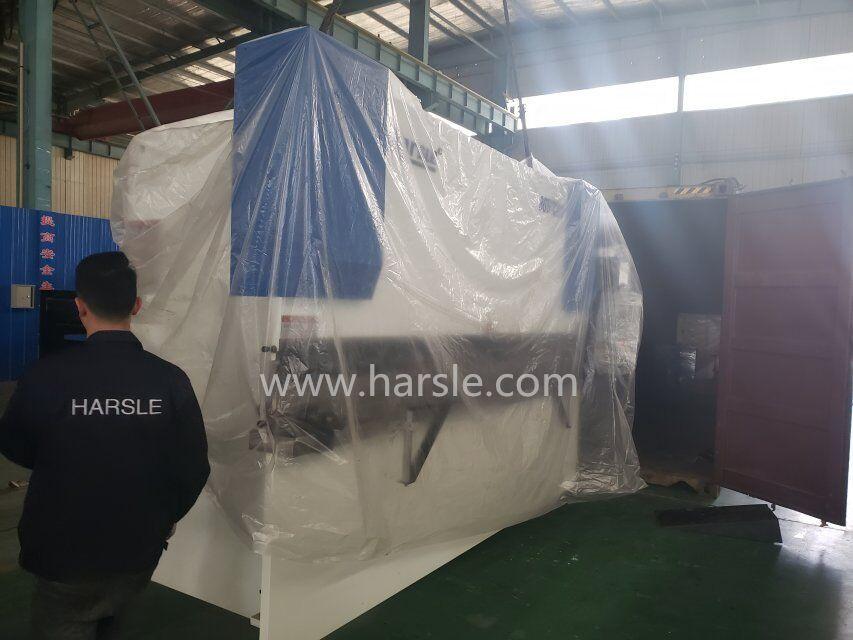 QC12Y-4*3200 hydraulic shearing machine and WC67K-80T/3200 hydraulic
