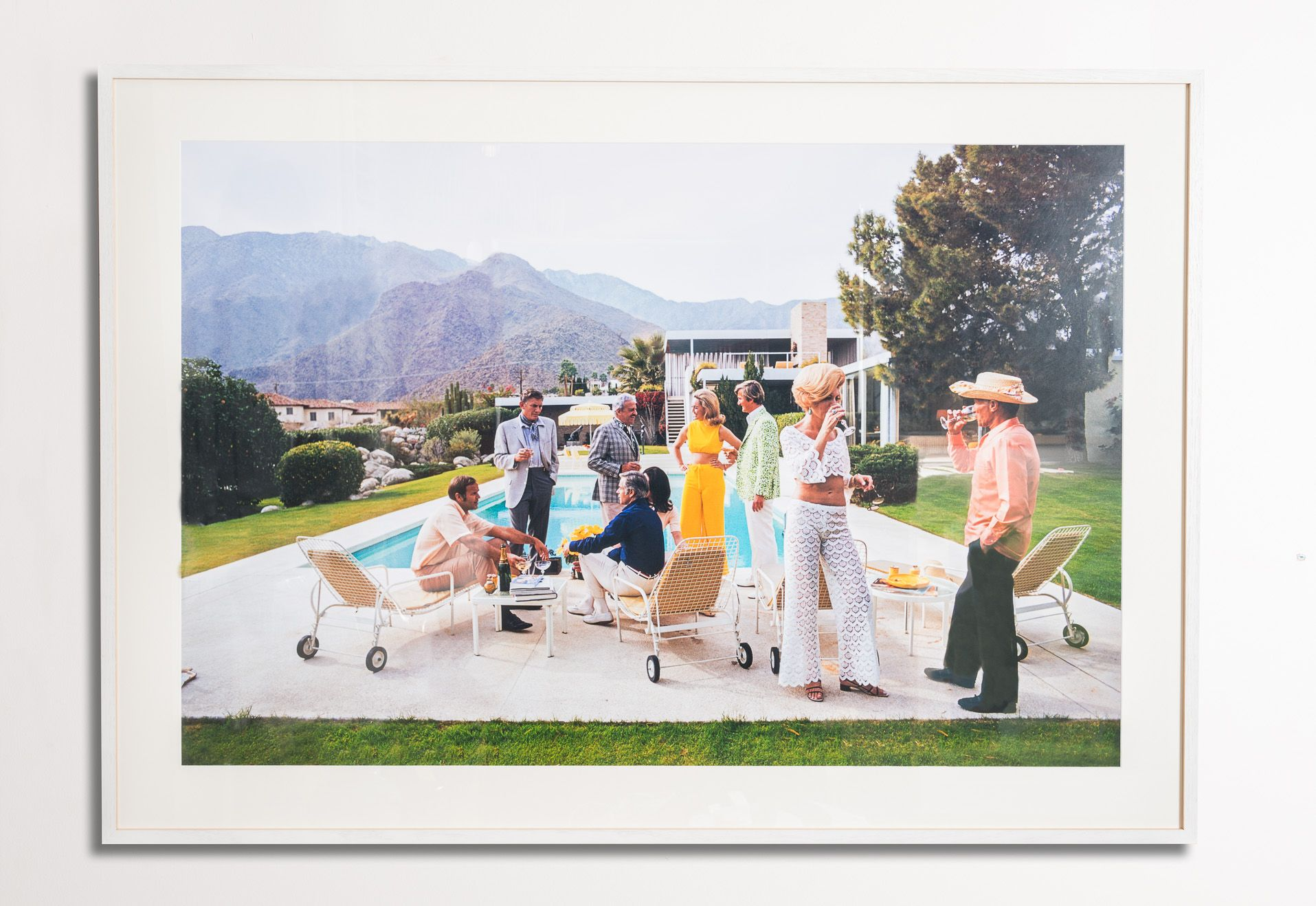 Framing by Framing to a T large scale photographic print titled ...